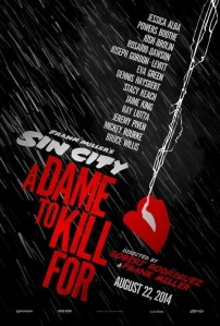 sin city 2 a dame to kill for movie poster