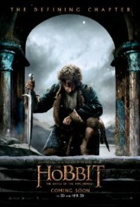 the hobbit battle of the five armies poster movie