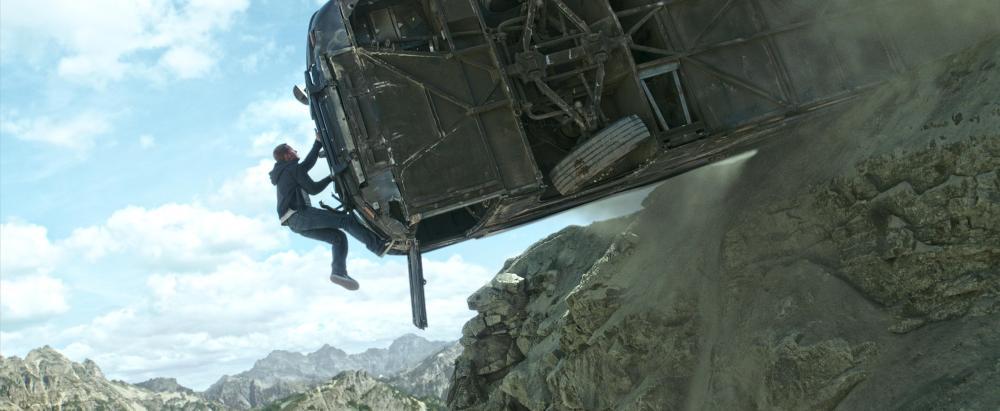 paul walker climbing bus