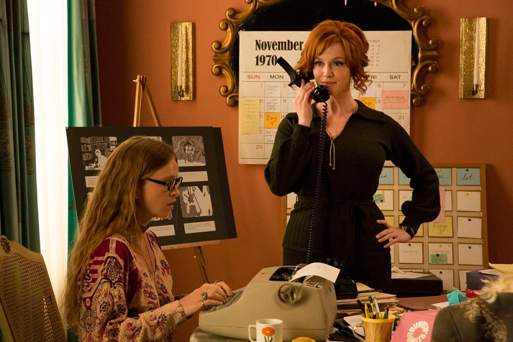 Christina Hendricks as Joan Harris - Mad Men _ Season 7B, Episode 14 - Photo Credit: Michael Yarish/AMC
