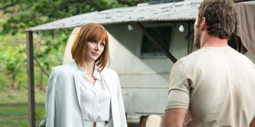 chris pratt bryce dallas howard talking